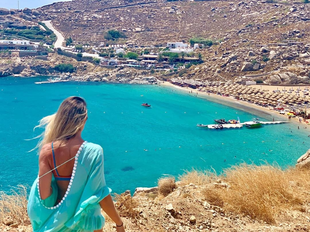 #tbt I miss you Mykonos 🦋 . . . #tbt#mykonos#greece