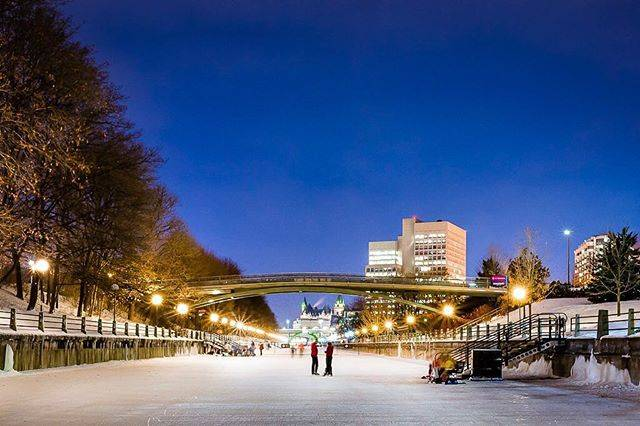 Have you gone skating ⛸yet? The entire 7.8 km of the Rideau Canal Skateway is finally open! 🔸📷: Nikon D750 + 24mm f/1.8G . .. ... #photographylife #justgoshoot #ottawa #myottawa #ottawaphoto #ottawaphotographer #cityscape #nightscape #rideaucanalskateway #rideaucanal #nightshot #architecture #longexposure #artofvisuals #way2ill #instagood #thecreatorclass #visualambassadors #colourpop #nikonphotography
