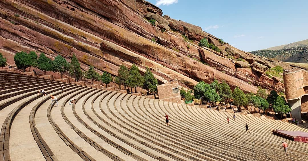 #colorado #denver #redrocksamphitheater #redrocks #music #concerts