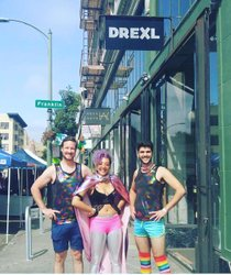 This Flashback Friday is brought to you by Oakland Pride weekend, circa 2016. Join us this Sunday beginning at noon. #oaklandpride #drexlbar #oakland #fbf