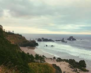 A Little Iphone Shot Of The Oregon Coast Cause I M Too Hyped On Its