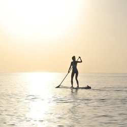 Ever want to try your hand at stand up paddleboarding in Door County? Paddlefest is & Door County Visitor Bureau | Door County Wisconsin