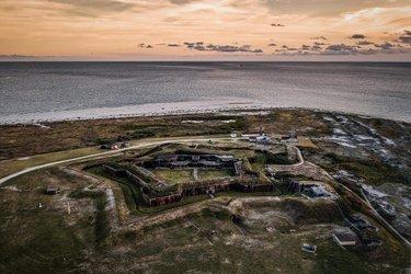 Fort Morgan #dronephotography #fortmorgan #fortmorganbeach #landscapephotography #thisisalabama #dronestagram #dronealabama