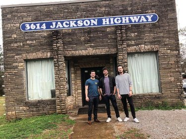 Stopped into Muscle Shoals Sound Studio today after an awesome show last night in Alabama! So much legendary history went down inside those walls. #sweethomealabama