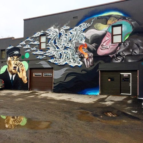 Awesome Mural Great Job Thehigherups Laportebrothers And Juancarlos