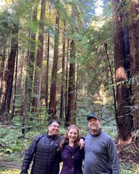 My brothers and I at Muir Woods!!! #nationalpark #muirwoods #johnmuir #sanfrancisco #norcal #redwoods #brothers