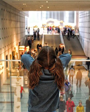Photo by nellyfromathens, caption reads: Little girl in a big world. • 📍Acropolis museum • #acropolis #museum #athens #littlegirl #athensvoice #ig_greece #instalifo #lonelyplanet #magnumphotos #lensculture #archidaily #peopleinframe #myfeatureshoot #folkmagazine #visualarchitects #portraitmood #life_is_street #noicemag #igers_greece #greecelover_gr #colors_of_day #subjectivelyobjective #life_greece #great_captures_greece #perfect_greece #loves_greece #photocontestgr #unlimitedcities #photologio_gr #acropolismuseum