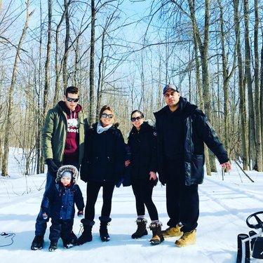 Family day❄️ #winter2018 #familyday #outdoors