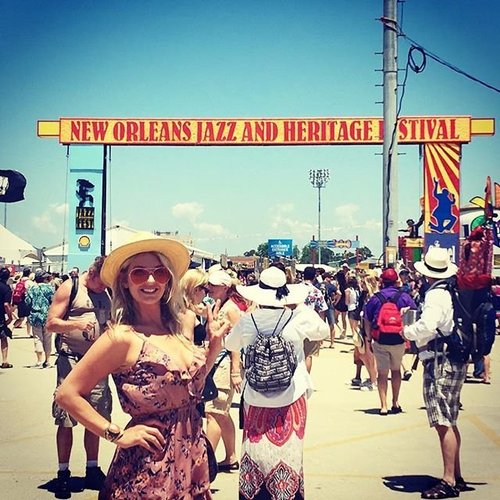 f0b901d47c9f Festing solo this year was an adventure! Missed my festie bestie  @doniellemerlot but made. thru_kens_lens. New Orleans Jazzfest