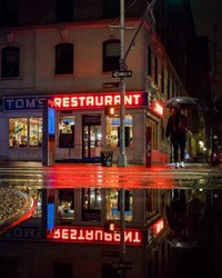 O restaurante de Tom está sempre aberto em Morningside Heights