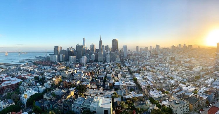 Image result for coit tower view