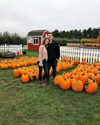 Allergies and a cold couldn't keep me away from the pumpkin patch 
