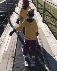 My minis, proud days are getting more proud. Just saying Boyce Park was just as fun as 7 Springs and it was only $56 #mrmom #skifloss #love #skiing #kids #boyce #detailing #mobiledetailing #pittsburgh boyce_park_ski_area