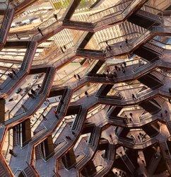 Eschers Waben - #vessel #hudsonyards #manhattan #stairs #nanotube