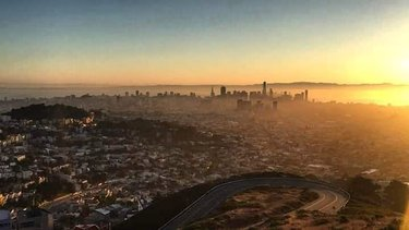 #sunrise #skyline #bayarea #beautifullandscape #sanfrancisco #peaceofmind #relax