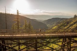 KVR Trail  Kettle Valley Railway  Recreational Trail  British