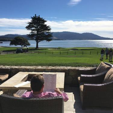 The 18th At Pebble Beach