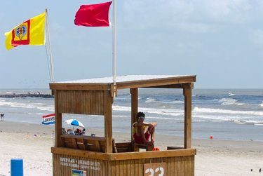 Galveston Island Beach Parks - Conditions