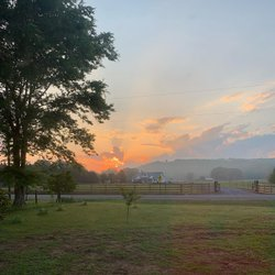 No filter Thursday morning sunrise🌞 . . #outmybedroomwindow #myview #happythursday #nofilter #blessed🙏🏻 #sweethomealabama #heartofdixie  #birmingham #springville #countrylife #smalltownlife #kgrayinteriors