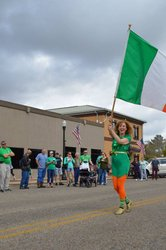 Photo by Sweet Home Alabama, caption reads: The world's smallest #SaintPatricksDay Parade is held today at noon in our very own Enterprise, Alabama!   How are you celebrating across Sweet Home Alabama?