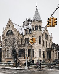 Bela NYC 💗 Nevou de leve mais cedo ❄️