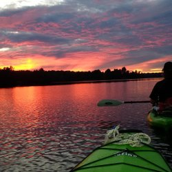 Sunset paddle on Indian Lake at Chaffeys Lock.  #paddling #sunset #kayak #kayaking #chaffeyslock #chaffeyslocks #rideaucanal #rideautours #onthewater #nofilter