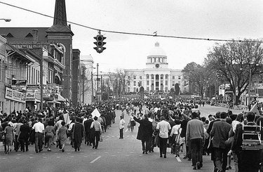 Even after the Civil Rights Act of 1964 was passed, black citizens had a difficult time securing their rights. ⠀⠀⠀⠀⠀⠀⠀⠀⠀ The kinds of protests used in the 1960s helped black Americans gain equality.  The economic impact, along with national media attention, raised awareness of the need for change in laws.  #teachalabama #alabamahistory #al200
