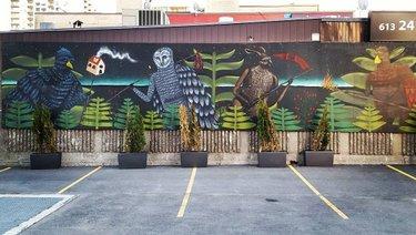 This mural by @drewmosley 👌 #ottawa #ottawastreetart #ottawamural #mural #murals #publicart #streetart #streetartphotography #drewmosley