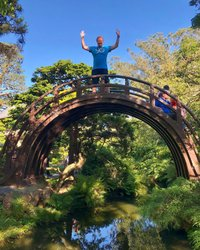Life is freedom! #life #freedom #japan #garden #green #sanfrancisco #goldengatepark