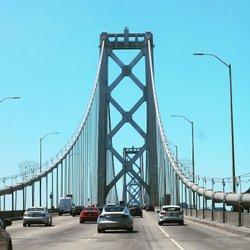 Bay Bridge . . . . . . #sfoakland #baybridge #connections #travel #wanderlust #photography #pictures #canonrebel #travelphotography #adventures #oakland #sanfrancisco #california #ca