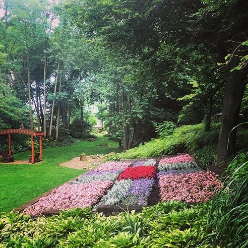 Merveilleux Even On A Cloudy Day, The Quilt Garden Is Still Vibrant. #mondaymusings #