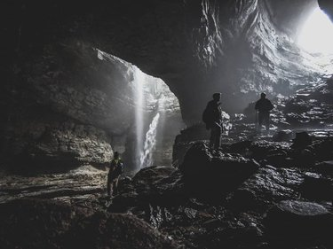 a day in a cave with lou_quaid and hedwards60 . . . . #thisisalabama #stephensgap #cave #hiking #backpacking #alabama #visitnorthal #adventure #teampixel #googlepixel3 #spelunking #photography #nature #portrait #souterncaveconservation #scci #albumdrop #bro #weather #hikealabama thisisalabama visitnorthal hikealabama
