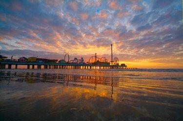 Galveston Island Beach Parks - Conditions