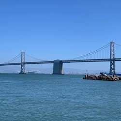 San Fran day Saturday! It did not disappoint. Oakland Bay Bridge, the Ferry Building, Embarcadero, Fisherman's Wharf, lunch at Boudin with the girls, Ghirardelli chocolate, a cable car ride, peek at Lombard Street, shopping at Union Square ... phew ... fun!