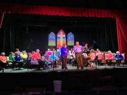 The cast is having so much fun getting ready for opening night of Looking For A City: A Gospel Music Journey Thursday! There are still great seats left, but tickets are selling fast, so get yours now at www.theatreofgadsden.org or by calling (256) 547-7469! #TOGgospel #theatreofgadsden #al200 #tog #toglive #gadsden