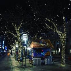 every visit to denver is always this magical denver lights 16thstreetmall