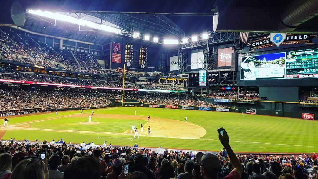 Map Of Arizona Diamondbacks Stadium.Arizona Diamondbacks Schedule 2019 Visitphoenix Com