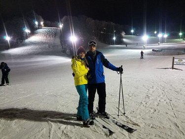 Покатушки⛷#войцеховы #ski #beautiful #pittsburgh #usa #monroeville #pennsylvania #voytsekhov