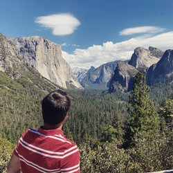Awesome Valley View Yosemite, California 😍 El Capitan ⛰ #yosemite #california #elcaptain #usa #goodtimes