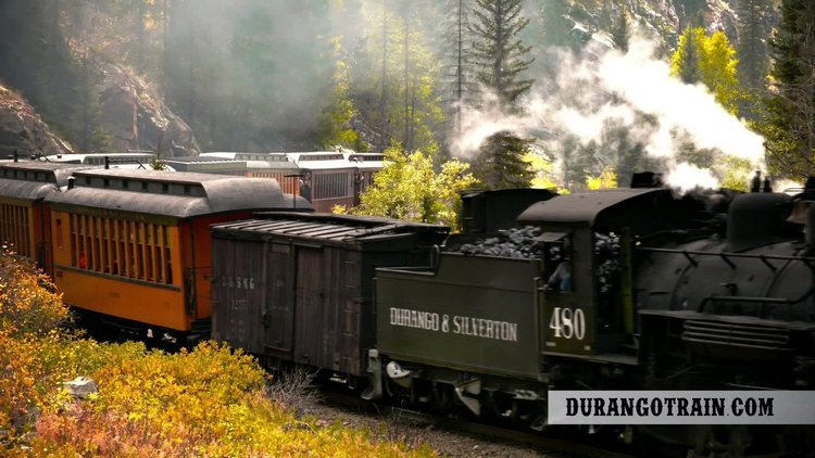 Official Durango & Silverton Narrow Gauge Railroad Train