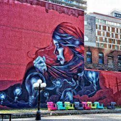Snider Plaza, Bank St, Ottawa  #ottawa #bank street #street art #street mural #ontario